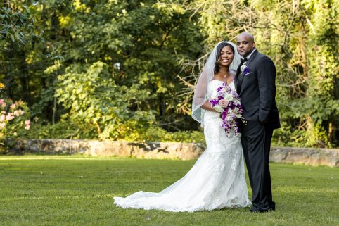 Bride and Groom Rust Manor House. Howerton+Wooten Events.