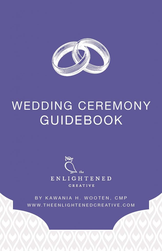 Wedding Ceremony Guidebook. The Enlightened Creative.