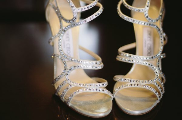 Wedding Shoes for a Bride. Howerton+Wooten Events.