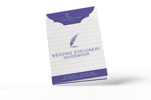 Wedding Stationery Guidebook. The Enlightened Creative