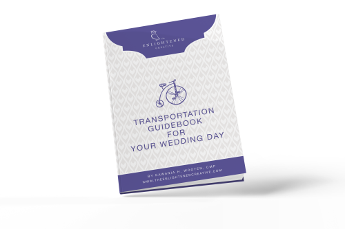 Transportation Guidebook for Your Wedding Day. The Enlightened Creative.