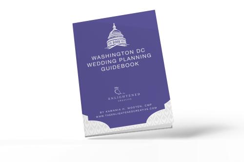 Washington DC Wedding Planning Guidebook. The Enlightened Creative