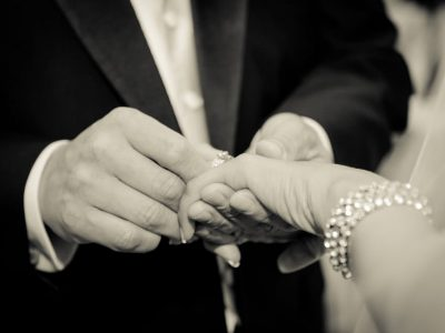 Bride and Groom Hands. Howerton+Wooten Events.