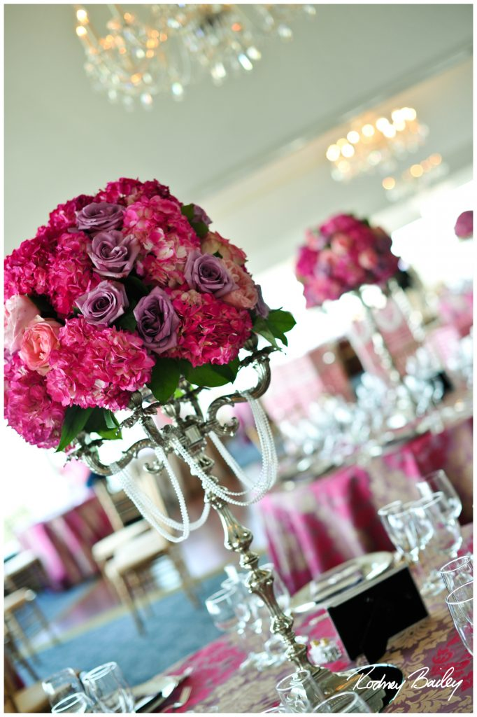 Pink and Gold Partee Linen. Howerton+Wooten Events.