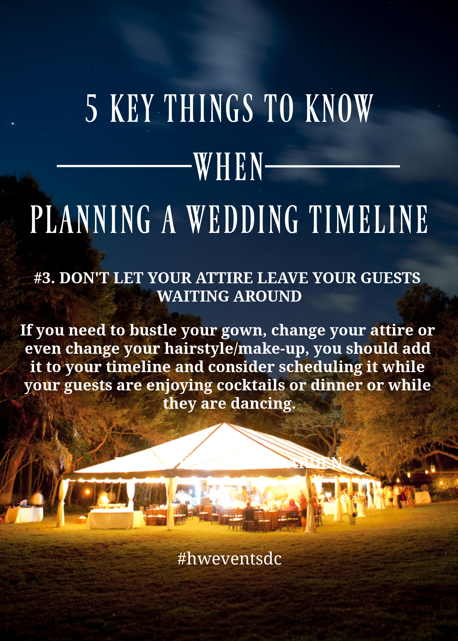 5 Key Things To Keep In Mind When Planning A Wedding Day
