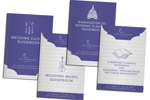 Virtual Box Set of Wedding Planning Guidebooks. The Enlightened Creative