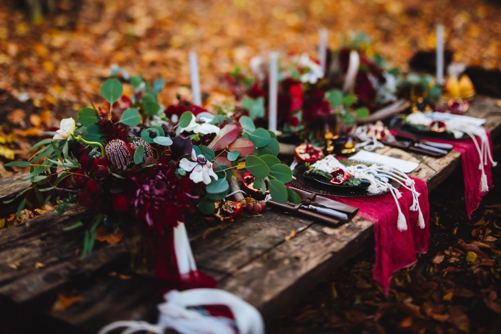 Gorgeous Autumn Table Scape