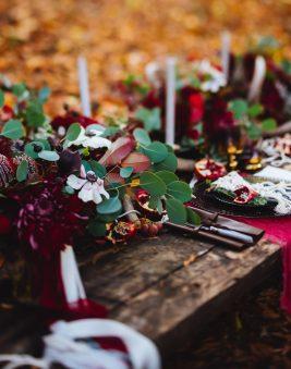 Gorgeous Autumn Table Scape