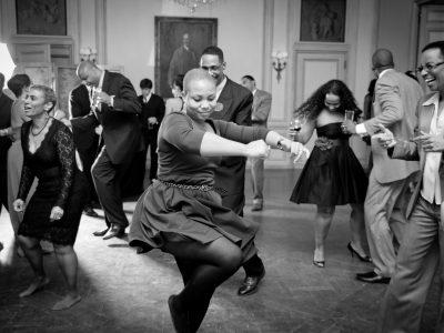 Wedding Guests Dancing. Howerton+Wooten Events.