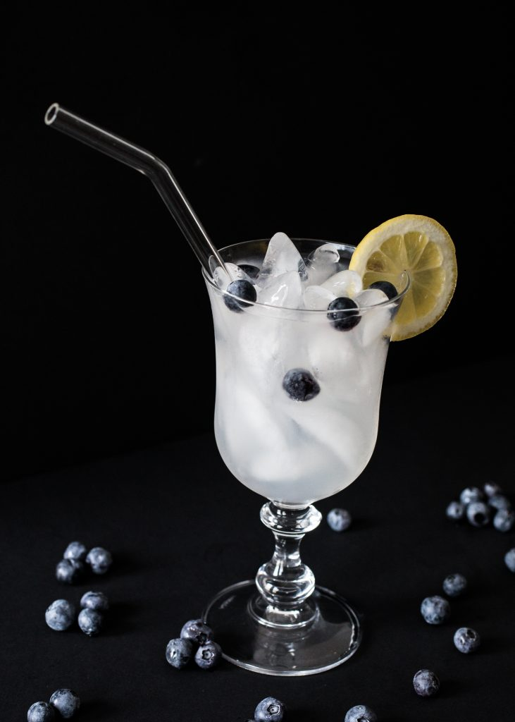 Skinny Blueberry Lemonade Cocktail Recipe. Howerton+Wooten Events.