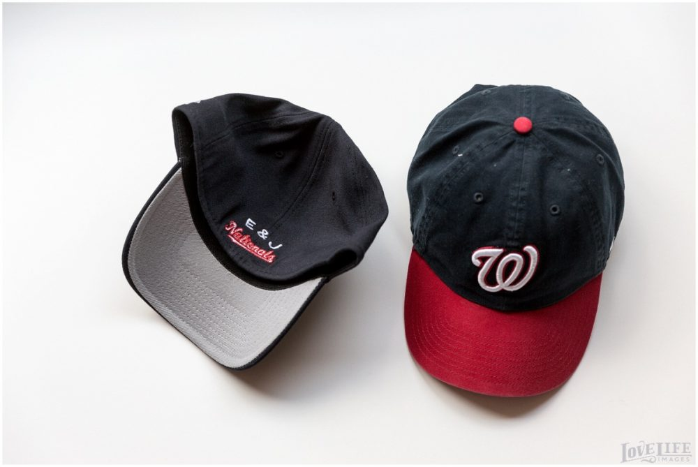 Custom Washington Nationals Baseball Caps. Howerton+Wooten Events.