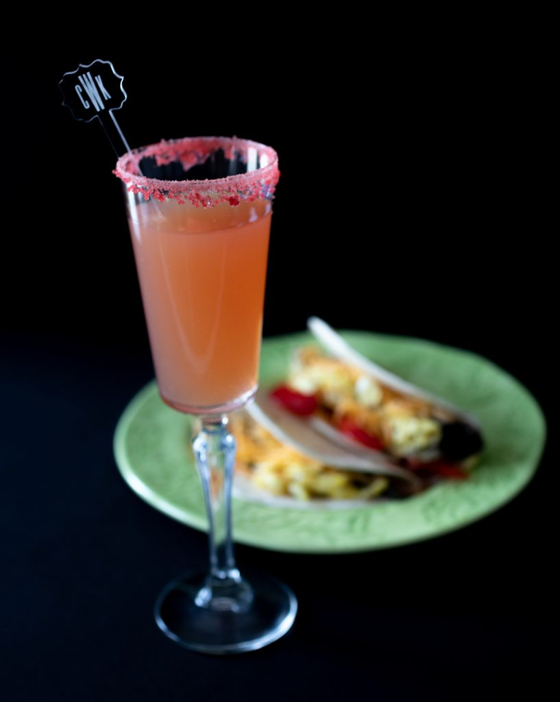 Mexican Mimosas. Breakfast Tacos. Howerton+Wooten Events.