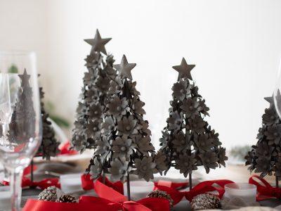 Martha Stewart Christmas Trees. Howerton+Wooten Events.