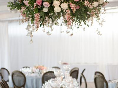 Hanging Wedding Flowers. Howerton+Wooten Events.