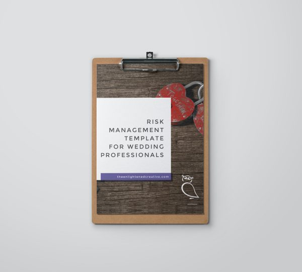 Risk Management Template for Wedding Professionals